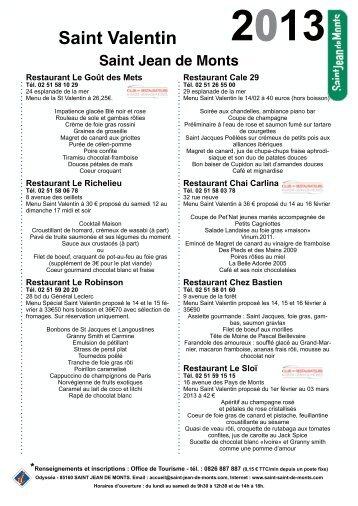 Télécharger le pdf à imprimer - Saint Jean de Monts