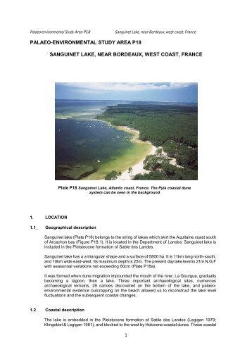 Name = Sanguinet Lake, near Bordeaux, west coast, France