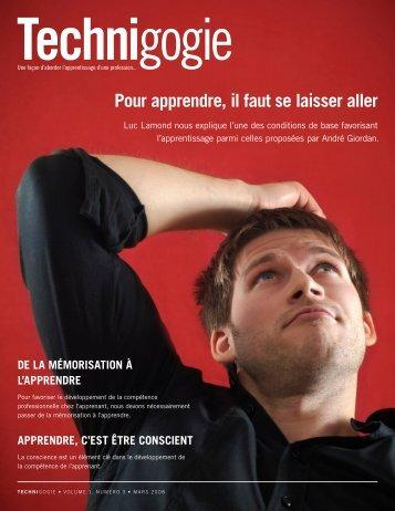 Pour apprendre, il faut se laisser aller par Luc ... - Henri Boudreault