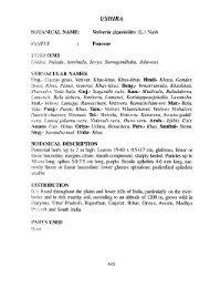Vetiveria Zizanioides (L.) - HerbalNet Digital Repository