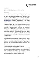 Press Release - Fluid Forms Streets-Earrings-Kickstarter