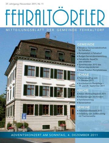 a-live - Gemeinde Fehraltorf