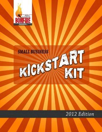 Small Business Kickstart Kit - Small Business Bonfire