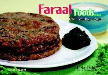Iron rich recipes tarla dalal faraal foods for fasting days tarla dalal forumfinder Gallery
