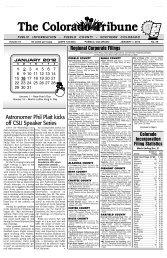 Legal Notice - Chicago Tribune