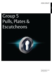 Push Plates Catalogue - UNION