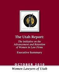 Executive Summary - Women Lawyers of Utah