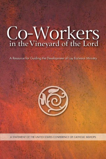 Co-Workers in the Vineyard of the Lord - United States Conference ...