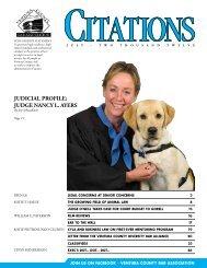 judicial profile: judge nancy l. ayers - Ventura County Bar Association