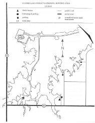 Sooner Lake Waterfowl Hunting Regulations