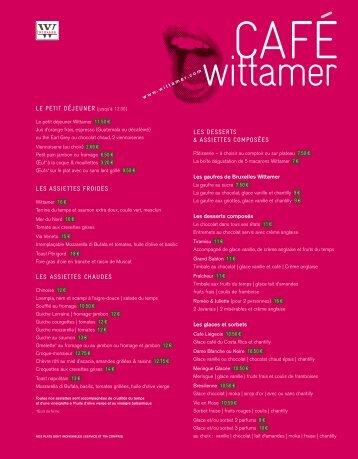 LES DESSERTS & ASSIETTES COMPOSÉES LE PETIT ... - Wittamer