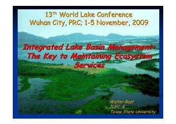 Integrated Lake Basin Management - World Lake Database