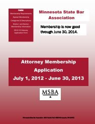 Attorney Application 16 for 12.pub - Minnesota State Bar Association