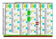 Abfallkalender der Stadt Bad Reichenhall für das 1. Halbjahr 2011