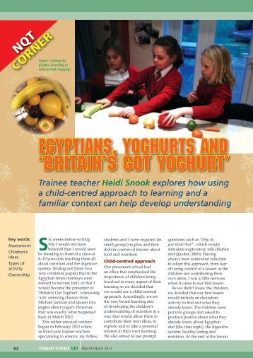 Egyptians, yoghurts and 'Britain's got Yoghurt'