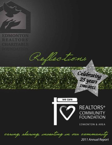 2011 Annual General Report - REALTORS® Community Foundation
