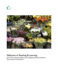 Teaching & Learning - TDSB School Web Site List - Toronto District ...
