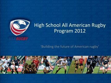 High School All American Rugby Program 2012 - powered by ...
