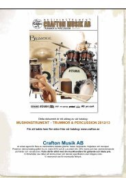 Nino Percussion - Crafton Musik AB