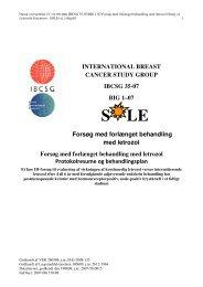 SOLE protokol 6. juli 2007, dansk - DBCG