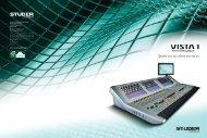 Studer Vista 1 Brochure 0812