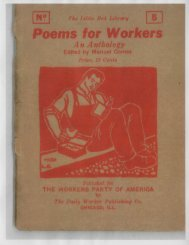 5 Poems for Workers