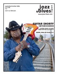&blues GUITAR SHORTY - the Jazz & Blues Report