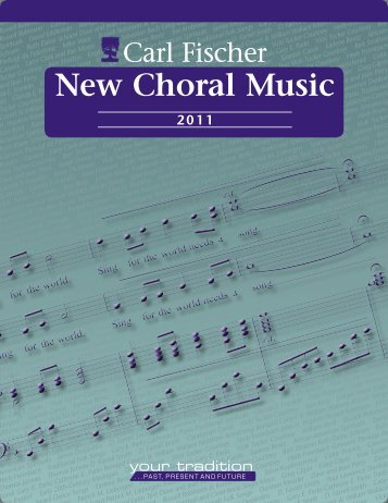 New Choral Music - Carl Fischer