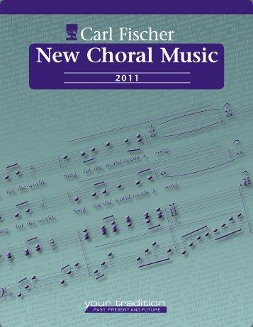 New Choral Music - Carl Fischer