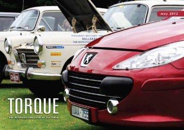 may 2012 - Peugeot Car Club of Victoria