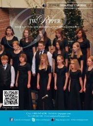 holiday choRal 11 PePPer - JW Pepper