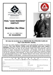 Brazilian Jiu-Jitsu - Vilshofen - East 2 West Martial Arts