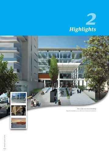 Annual Report 2008 - Part 2 - Highlights - Christchurch City Council