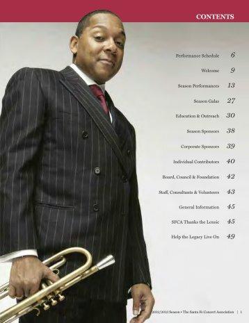 Download Full Program in PDF - Santa Fe Concert Association