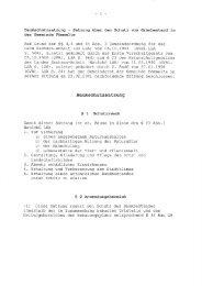 Baumschutzsatzung — Satzung über den Schutz von ... - Barby