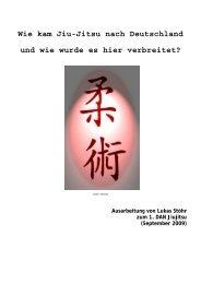Wie kam Jiu-Jitsu nach Deutschland und wie wurde es hier verbreitet?