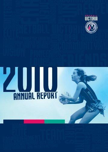 2010 Annual Report - Netball Victoria