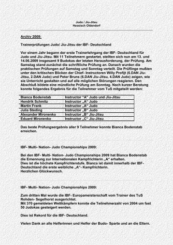Archiv 2009 - Judo und Jiu-Jitsu in Hess ...