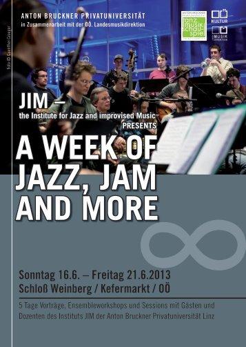 JIM Jazzweek 2013 - SKE