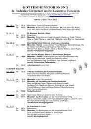 2011-12 - Gottesdienstordnung