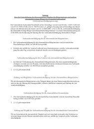Öffentliche Bekanntmachung Satzung über die ... - Barby
