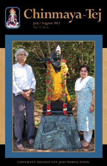 July/August 2012 [Vol 23. No. 4] - Chinmaya Mission San Jose