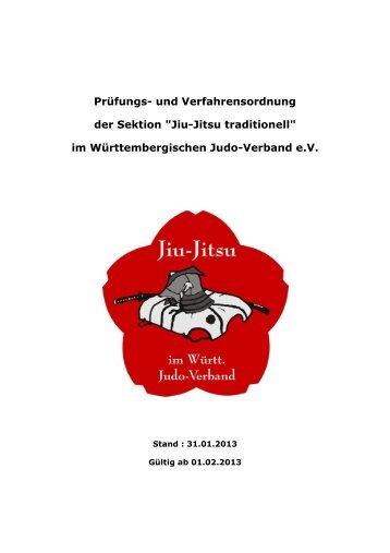 Prüfungs - Jiu-Jitsu im Wuerttembergischen Judo - Verband