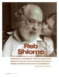Shlomo - Robert L. Cohen