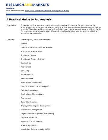 head start guide to job analysis job wku orgs server rh yumpu com Machinist Practical Guide Machinist Practical Guide