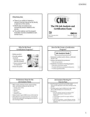 CNL - DiversityNursing Blog
