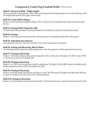 youth football practice plans pdf