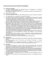 Benutzungsordnung der Gemeindebücherei ... - Stadt Stadtbergen