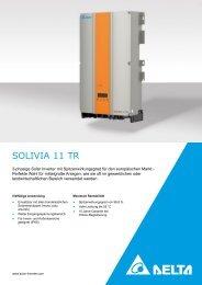 SOLIVIA 11 TR - Solemio Solar