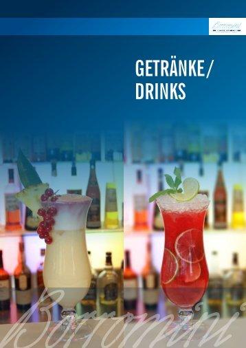 GETRÄNKE / DRINKS